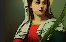 curar enfermedades de los ojos oración santa lucia