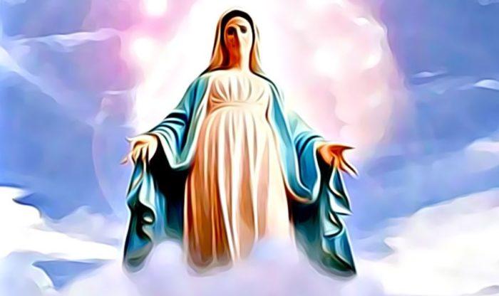 oración virgen maría para las noches