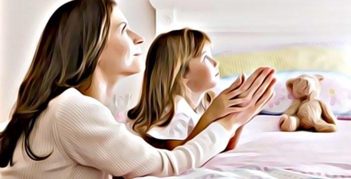oraciones de la noche para antes de dormir
