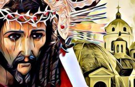 justo juez cargando su cruz