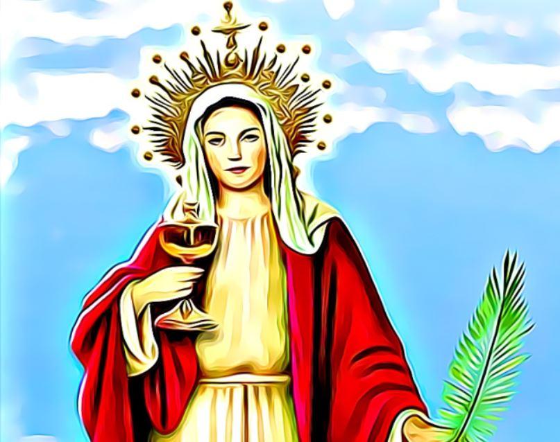 santa barbara virgen